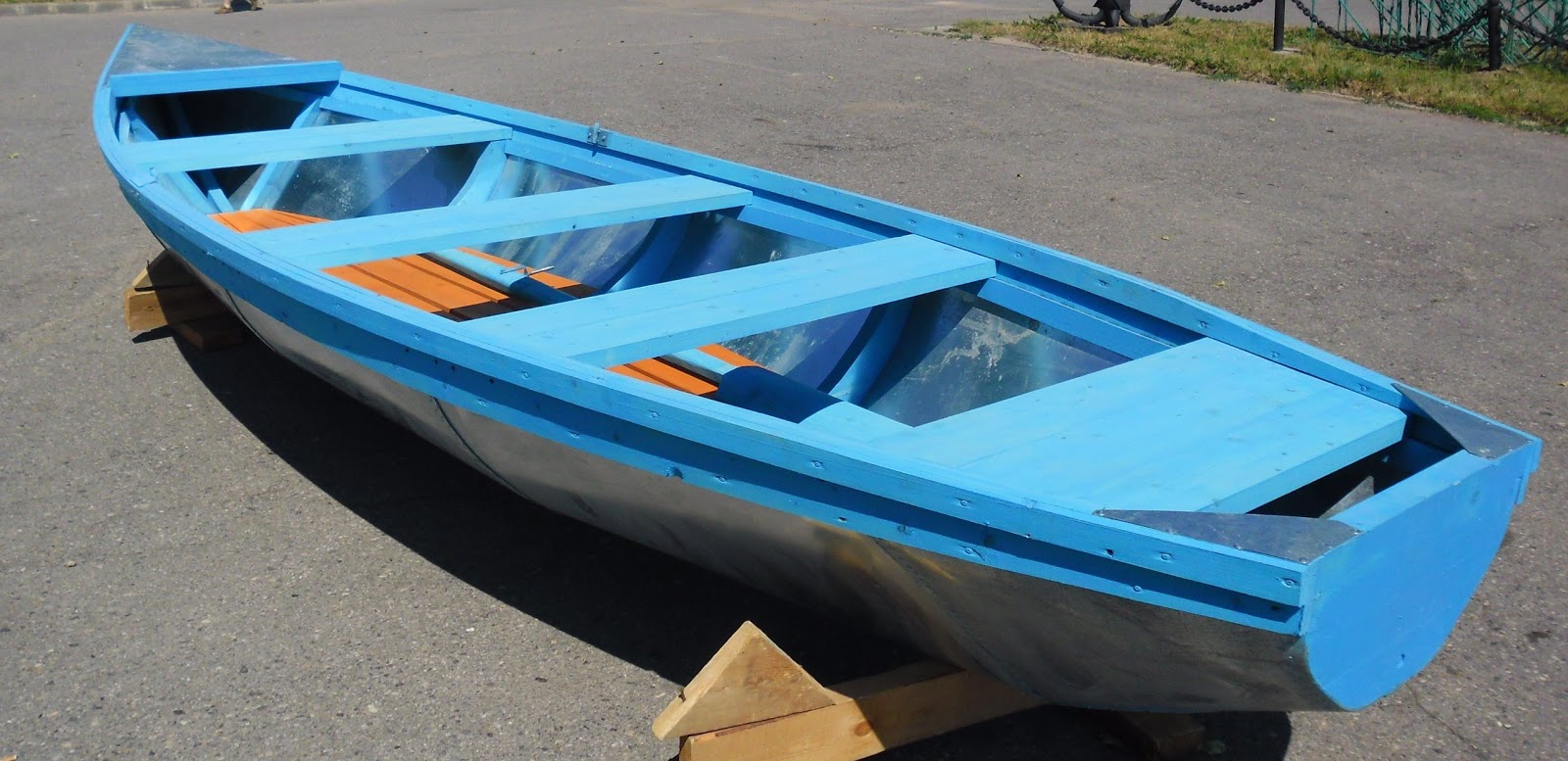 лодка три доски