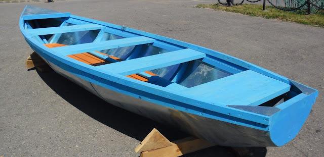 Лодка с оцинкованным дном своими руками