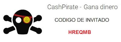 Codigo de invitación de CashPirate