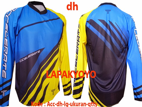 jersey sepeda polos