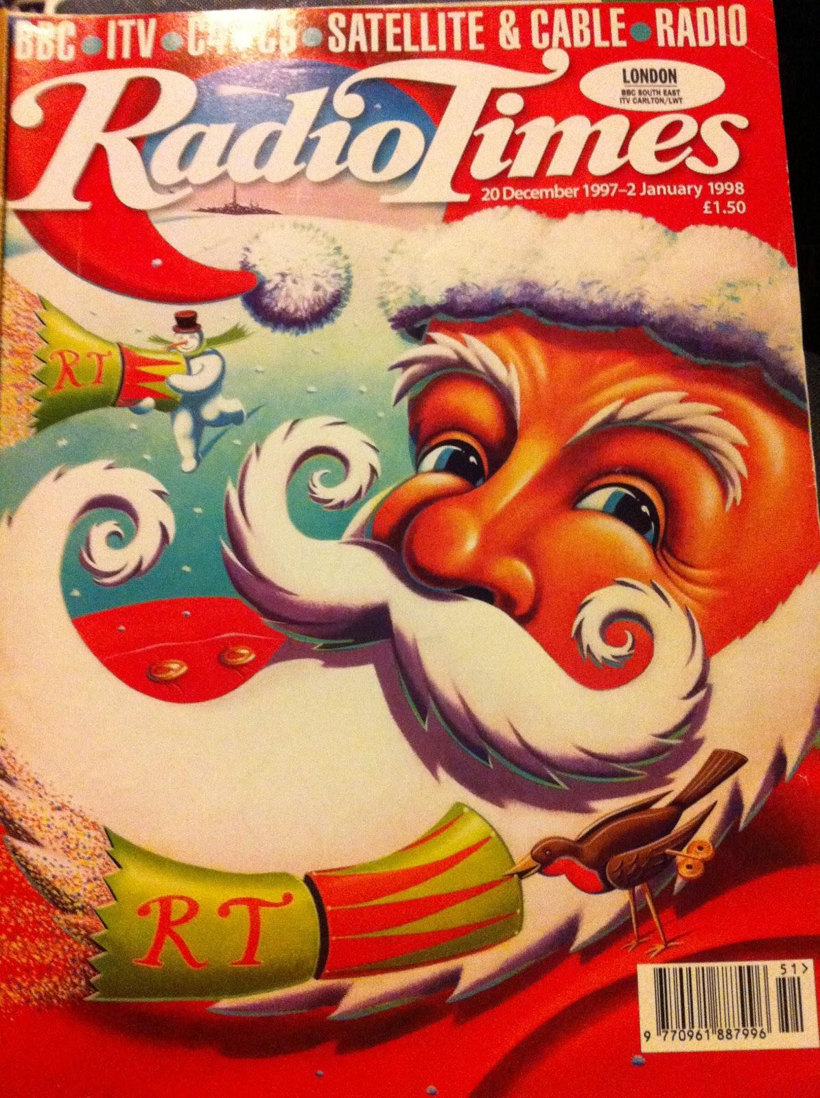 Radio Times Christmas 1980 Christmas Past Radio Times