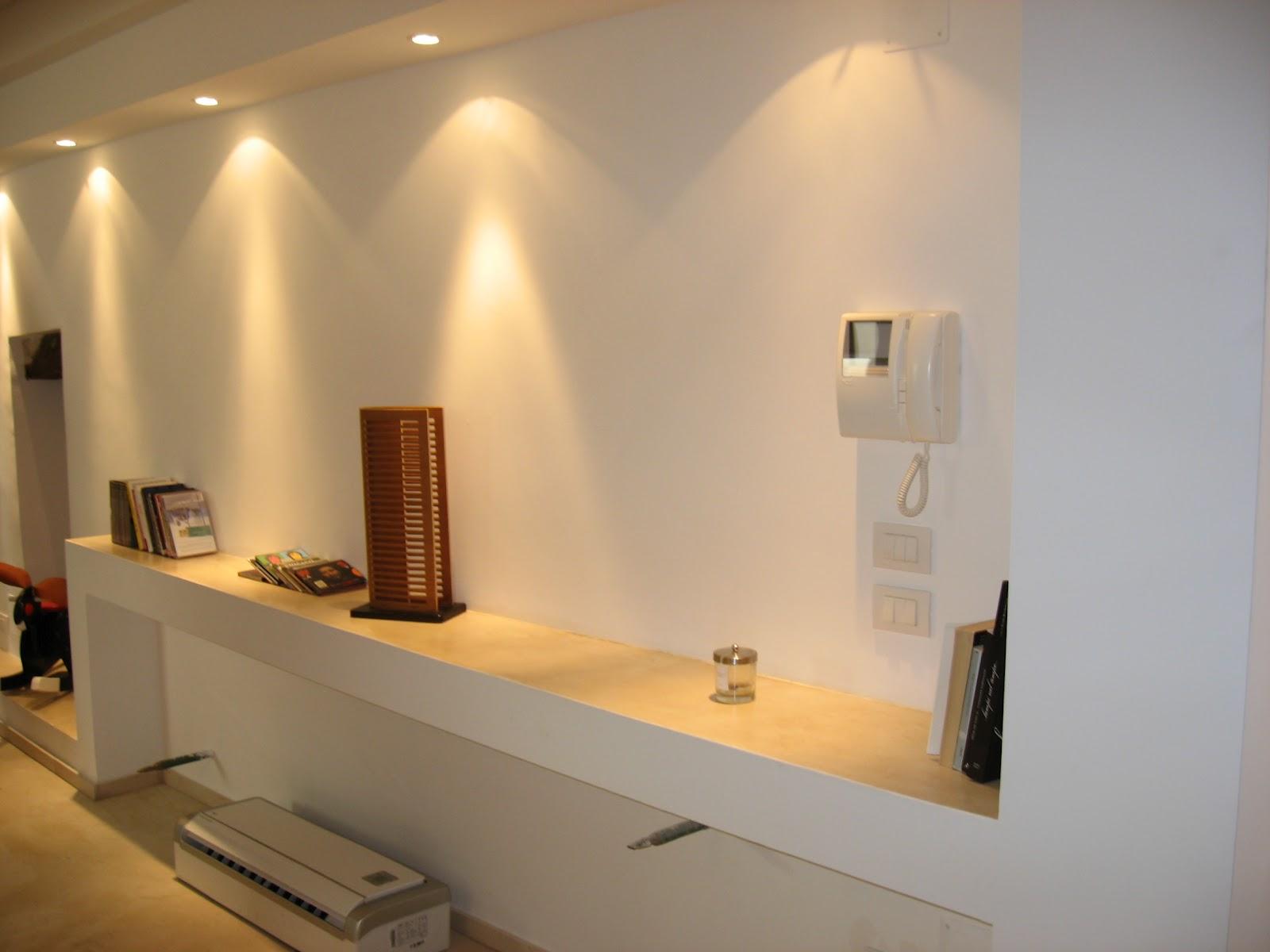 Parete salotto cartongesso idee per il design della casa - Lavori di cartongesso in cucina ...