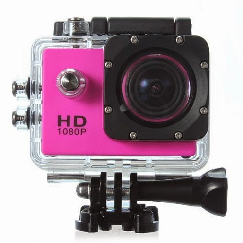 GoPro low cost rosa