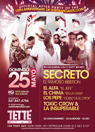Secreto - Tette - May 25, 2014
