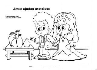 adalia helena atividades o primeiro milagre de jesus jesus