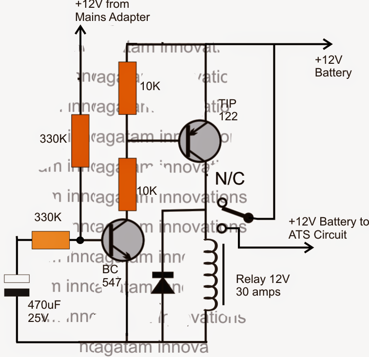 relay changeovers electronic circuit projects relay changeovers electronic circuit projects lpg changeover switch wiring diagram in order to ensure a ...  sc 1 st  MiFinder : 12v changeover relay wiring diagram - yogabreezes.com