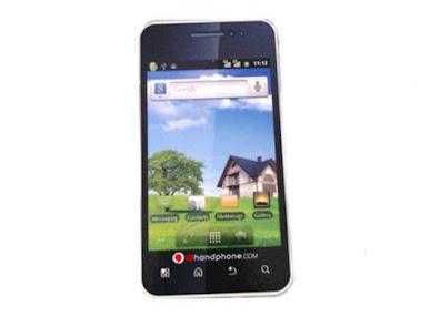 Cross Andromeda A10, Handphone 3G Bisa Wi-Fi Hotspot