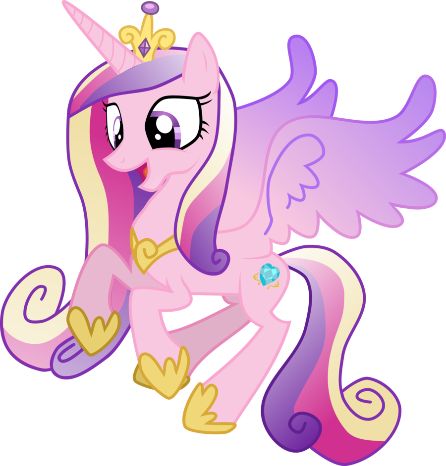 Nerdy knitter designs princess cadence - My little pony cadence ...