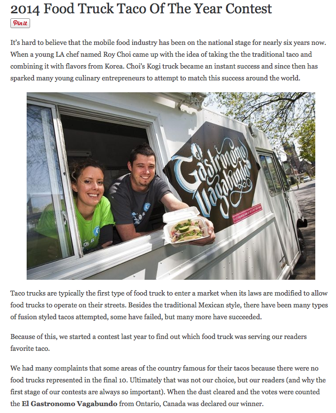 http://mobile-cuisine.com/features/vote-for-the-2014-food-truck-taco-of-the-year/