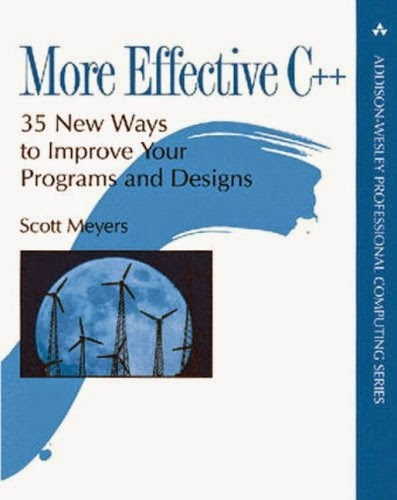 More Effective C++ front cover