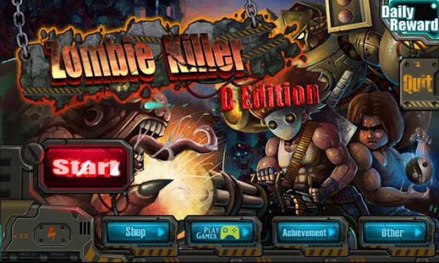 Zombie Killer – D Edition APK v2.1 [Unlimited Money/Medal]