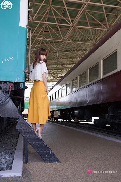 2 Im Min Young - Outdoor-very cute asian girl-girlcute4u.blogspot.com