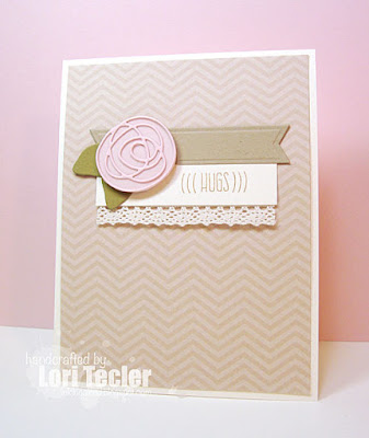 Hugs card-designed by Lori Tecler/Inking Aloud-stamps and dies from My Favorite Things