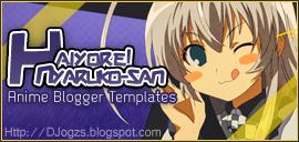 Eucliwood Hellscythe Blogger TemplatesHaiyore! Nyaruko-san Blogger template