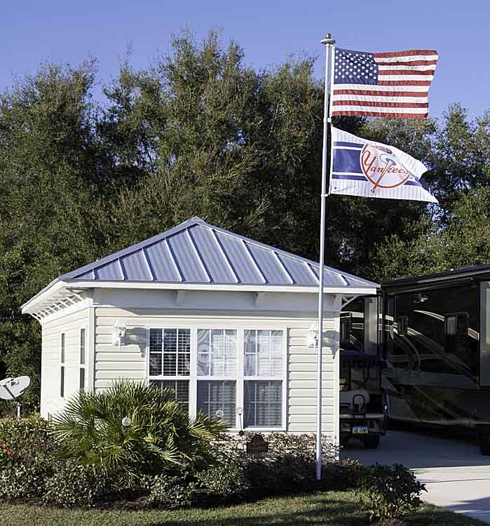 Happenings at florida grande grande suite open house tour for Florida grande motor coach resort