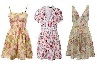 modelos de vestidos com florais