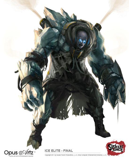 Bjorn Hurri ilustrações artes conceituais fantasia games Infamous 2