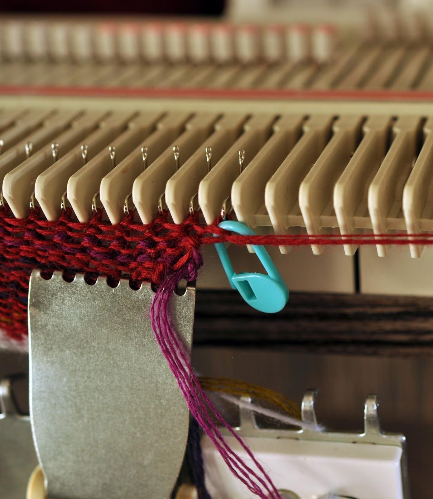 Вязание на сильвер рид 150