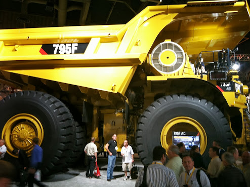 Caterpillar Booth - MINExpo 2012