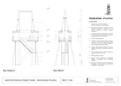 Řezy novou ocelovou Hýlačkou, architektonická soutěž - 3. místo