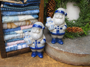 Salt Glaze Santas