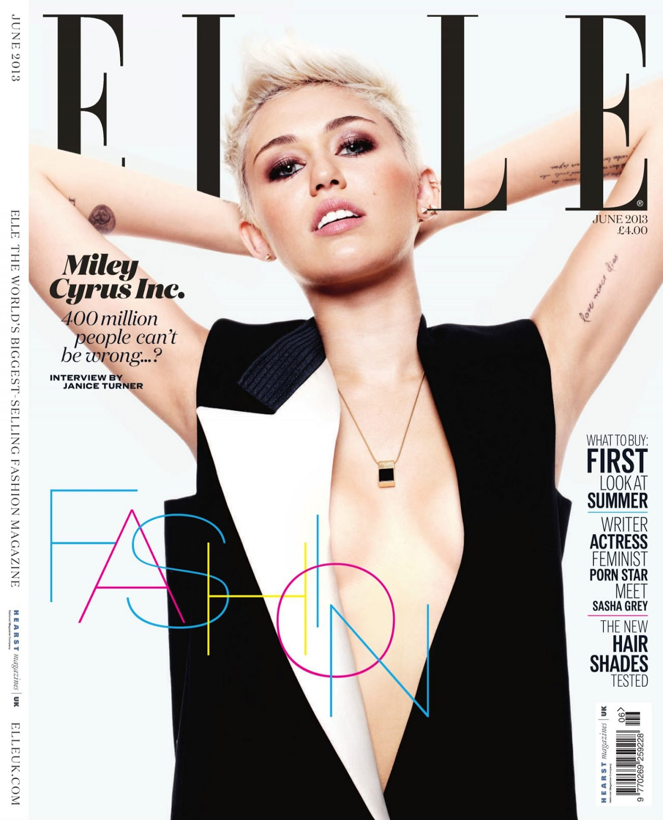 Miley Cyrus: Rapunzel With A Mohawk: Miley Cyrus By Jan Welters For Uk