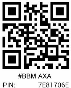 pin BBm AXA