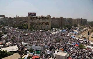Kebangkitan Rakyat, Penyokong Morsi, Preden Mesir