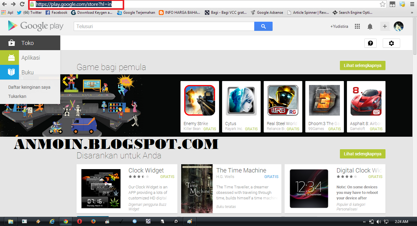 Cara Download APK Google Play dari PC/Laptop Tanpa Software