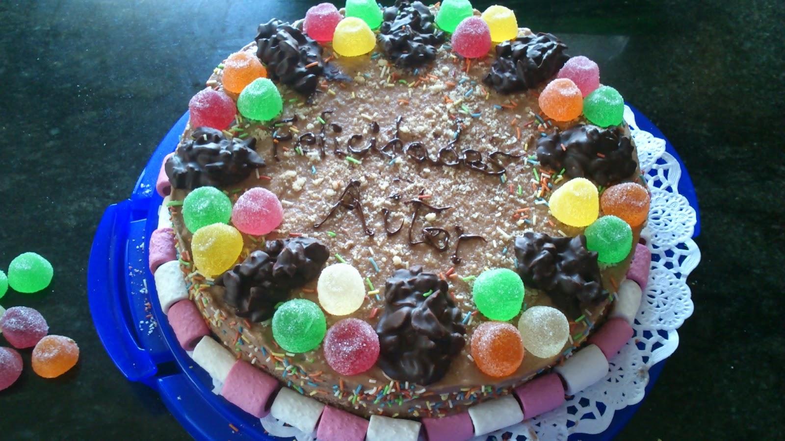 Tarta de Almendra y Chocolate