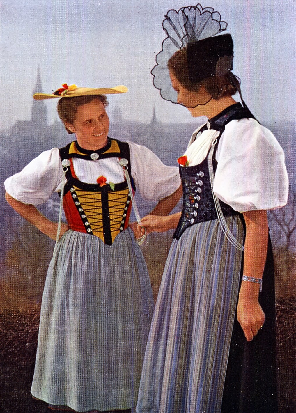 They represent the traditional dress of a region, of social standing, or of specific population groups. Switzerland has more than different costumes, and each of the 26 cantons has its own. In , the Unspunnen traditional costume group was founded, and in , a special Unspunnen costume was designed according to models from the 18th.