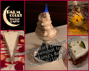 REVIEW AND PHOTO FEATURE: FREE Dessert at Palm Court in Arlington Heights Through June 10, 2019