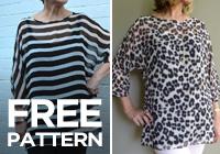 Free Pattern: Zoe Top