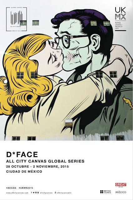 El artista inglés D*Face intervendrá la fachada del Hotel Lisboa en la colonia Roma