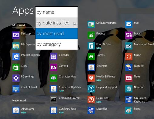 4 cách tối ưu start screen trên windows 8.1