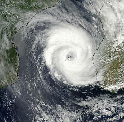 Imágen satelite ciclón Haruna, 21 de Febrero de 2013