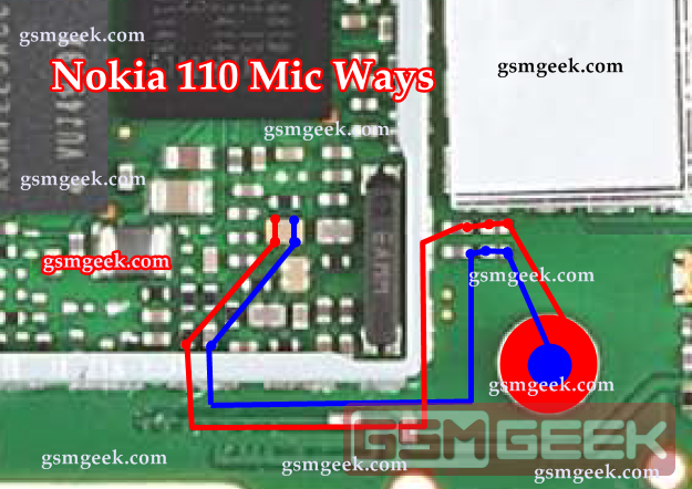 Nokia 110 Mic Ways Problem