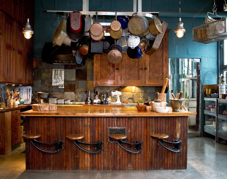 Rustic Kitchen Colors