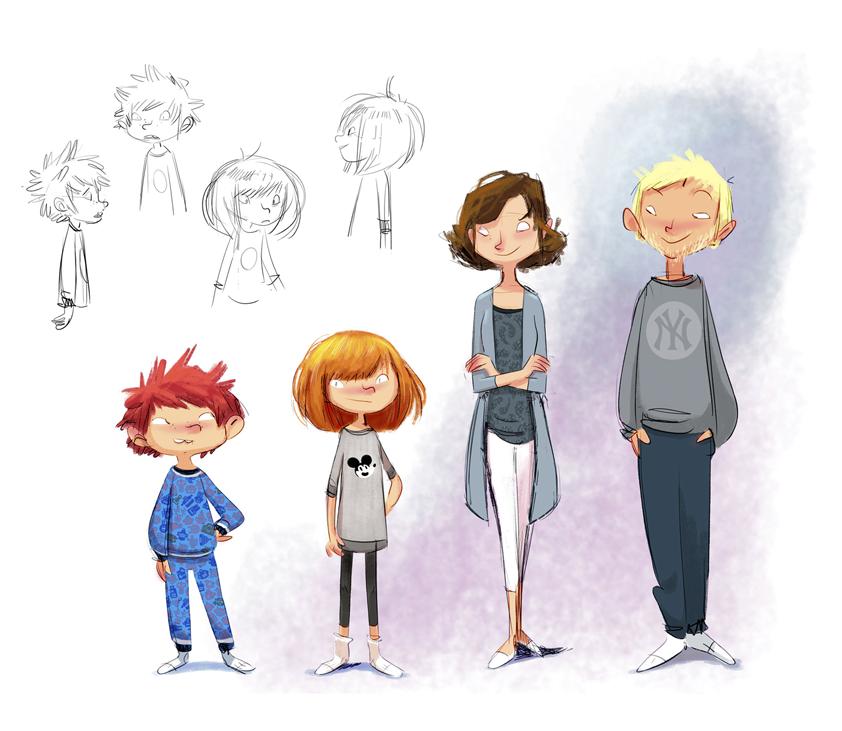 Character Design Magazine : Character designs ii oriol vidal storyboards