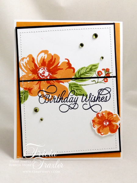Simply Stamping Stamp Simply Birthday Wishes