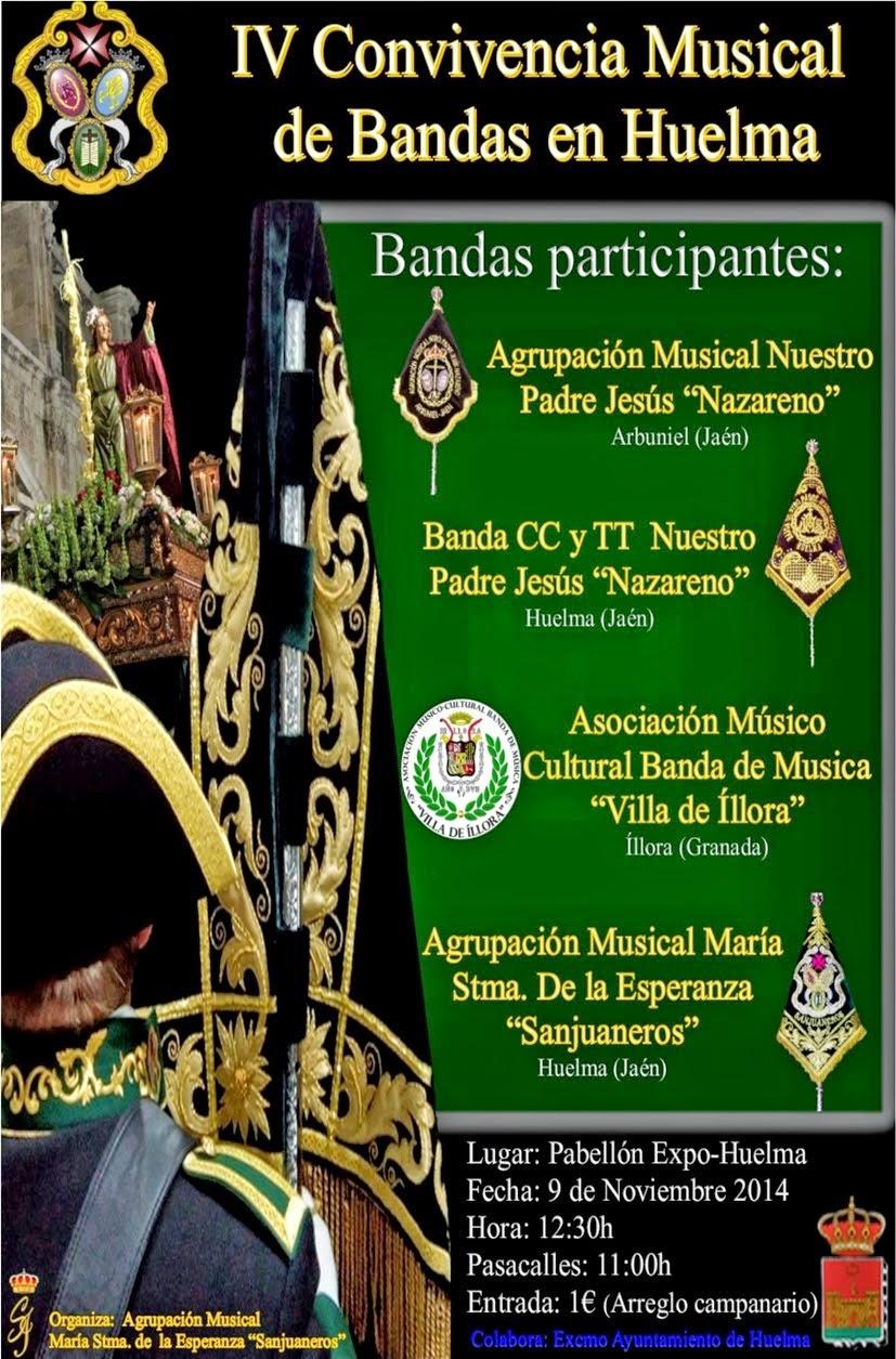 IV CONVIVENCIA MUSICAL DE BANDAS EN HUELMA