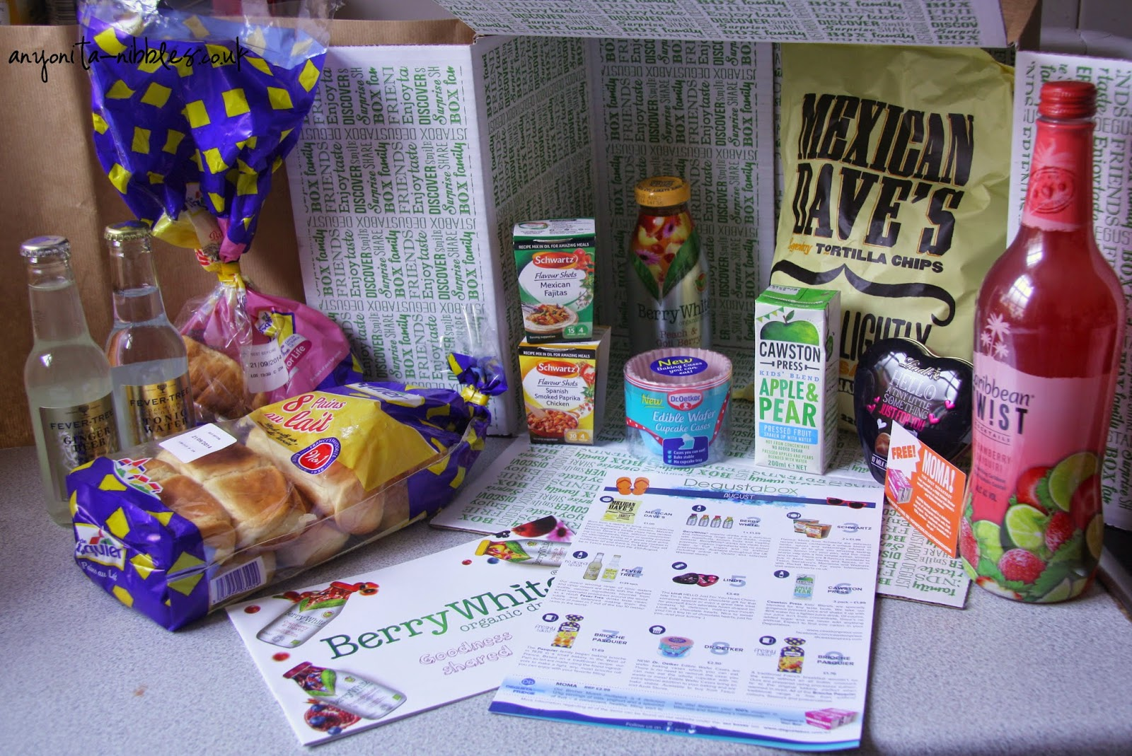 Degustas box is your monlthly surprise food box | anyonita-nibbles.co.uk