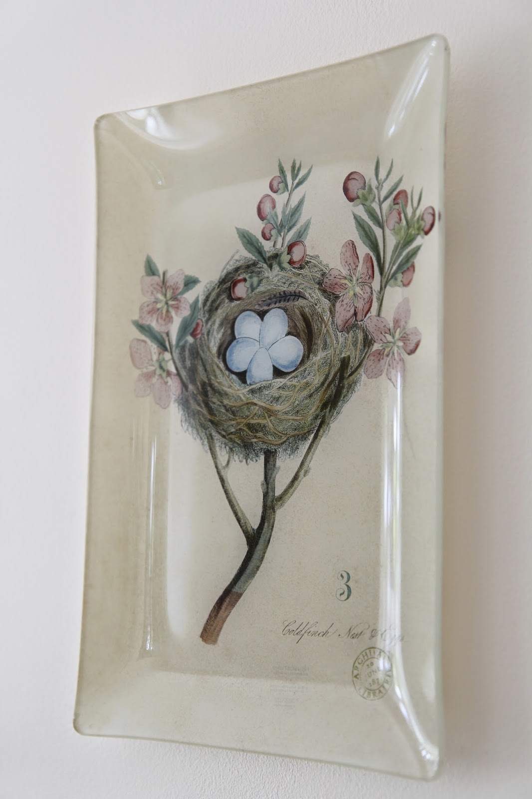 Nest and eggs disply plates; Easter Buffet Table Decor - Nora's Nest