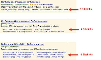 PPC Ad Sitelinks