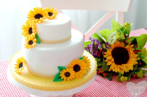 Sunflower Birthday Cake Pictures