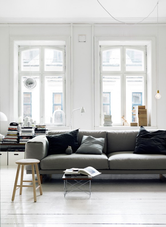 The home of Emma Persson Lagerberg photographed by Petra Bindel.
