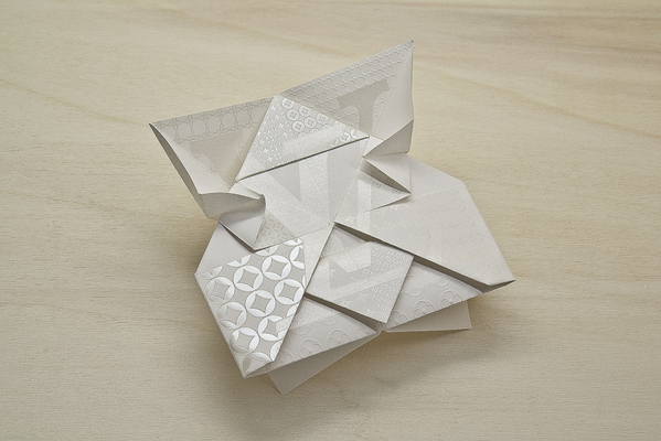 Invitacion,origami,Louis Vuitton,Invitation,Origami, Happycentro,japon,japan,paper,plegado,fold