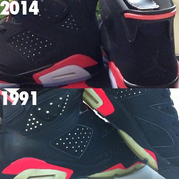 Jordan 6er Infrared
