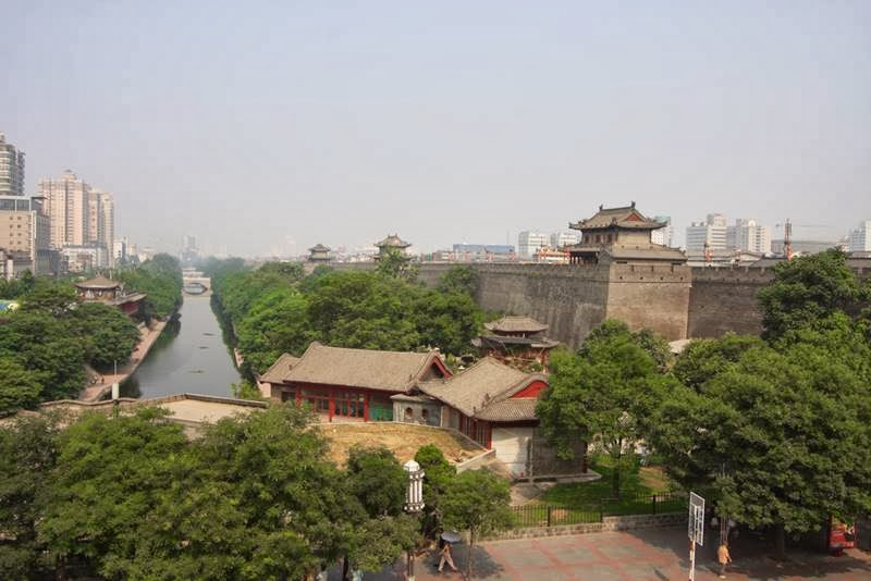 The Xi'an City Wall, China