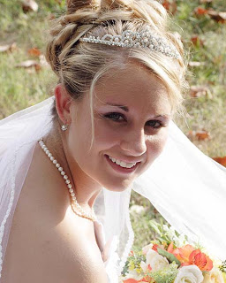 wedding hairstyles tiara veil